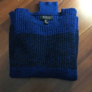 Blue and Black Sweater!